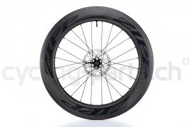 Zipp 808 Firecrest Carbon Clincher Tubeless Disc Brake Matte Black Laufrad Vorne