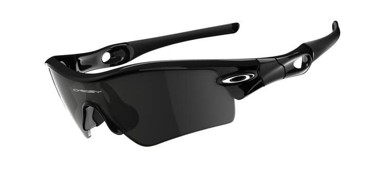 oakley radar path polished black grey brille cycling parts. Black Bedroom Furniture Sets. Home Design Ideas